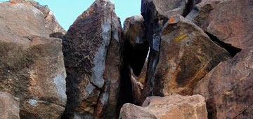 Piedras, cochinilla, litófonos y otras leyendas. Guatiza ignota