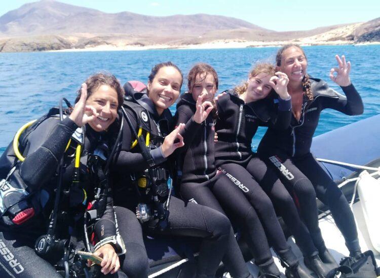 Curso Open Water PADI en Lanzarote